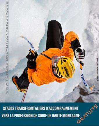 Stages d'accompagnement vers la profession de Guide de Haute Montagne